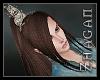 [Z] Ponytail marron V1