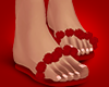 Red Silks Flipflops