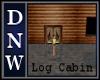 NW Log Xmas Cabin
