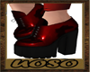 Red Witch Boots
