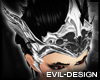 #Evil Lord Silver Helm