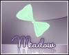 Faldohr Green Hair Bow