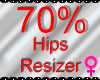 *M* Hips Resizer 70%