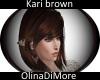 (OD) Kari brown