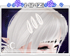 ☪»White Hair clips