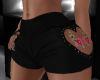 black heart shorts