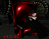 PVC Red/Black Throne