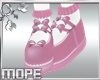 Pink Bow- Sock-Shoe