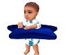 Baby Boy Adam Swimming