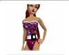 womens purple swimsuit
