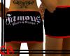 .CB. Famous Mini Skirt