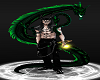 Forest Dragon Beast Black Pants