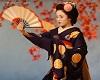 Japanese  Fan dances