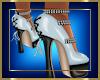 Blue Black Heels