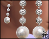 希 Wedding Earrings