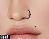 #Nose Ring BLACK