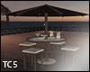 Exotic bar patio