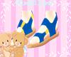 Kids Summer Sandles blu