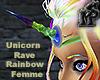 Unicorn Rave Rainbow Anm