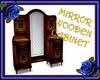 Mirror Wooden Cabinet