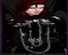 Male Vampire Black Wings