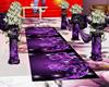 Wedding aisle Parede