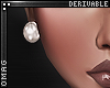 0 | Pearl Stud Earrings