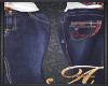 Plaid Jean Lg Skirt XBM