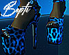 ! Cheetah Platform Heels