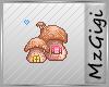 Mushroom House - Badge