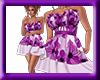 spring dress purple