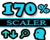 170% Scaler Head Resizer