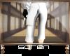 S-l White Ninja Pants l