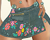 RLS Short Jean Skirt
