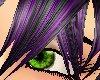 black plum spike hair
