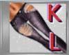 KL*Ripeed purple jeans