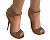 TF* Healed Sandals Brown