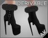 ~AK~ Fur Stiletto Boots