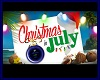 XMAS IN JULY backdrop