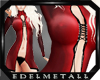 -e- Red Satin Metal