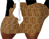 Brown Business skirt