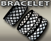 Emo Wire Black Bracelets