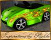 I~Lil Lime Hot Rod Car