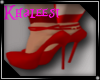K  Red Fisty  Heels