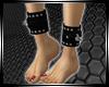 Studded Slave Anklets