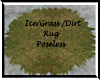 Ice/Dirt/grass, rug n/po