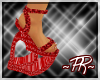 ~pr~ Heart Shoes Red