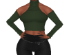 Off Shoulder Top Grn v1