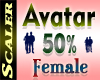 Avatar Resizer 50%