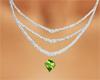 august birth necklace
